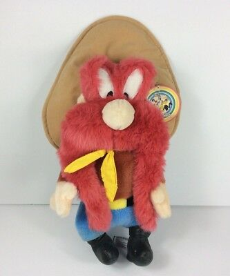 "Yosemite Sam Plush 16""  Large Looney Tunes Warner Bros Store Exclusive NOS 1995"