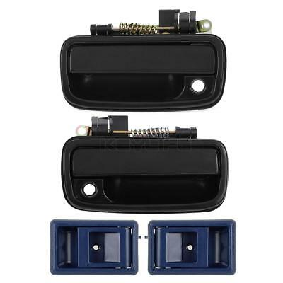Front 2 Outer 2 Inner Left Right Side Door Handle For 95-00 Toyota Tacoma