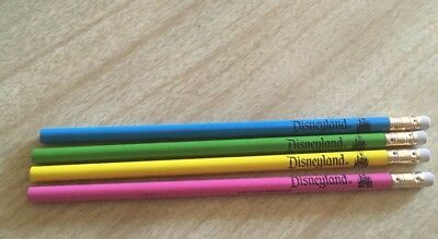4 1960's Unused Disneyland Pencils