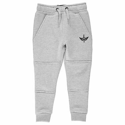Firetrap Kids Boys Slim Joggers Infant Fleece Jogging Bottoms Trousers Pants