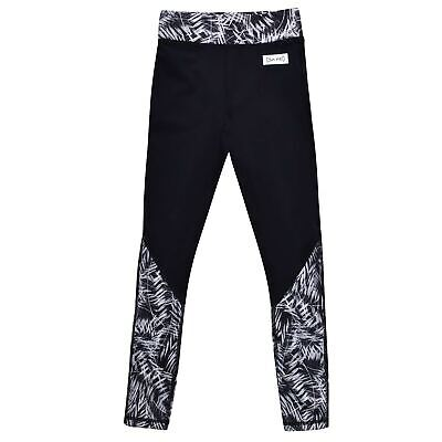 USA Pro Kids LM Panel Tgt Girls Performance Tights Pants Trousers Bottoms