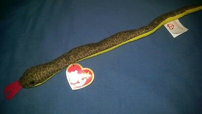 Ty Slither the snake VHTF in excellent condition teenie