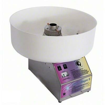 Paragon - Manufactured Fun Spin Magic 5 Cotton Candy Machine with Plastic Bowl