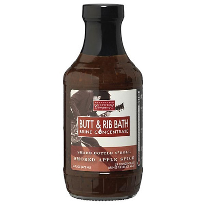 Sweetwater Smoked Apple Butt & Rib Bath 16oz
