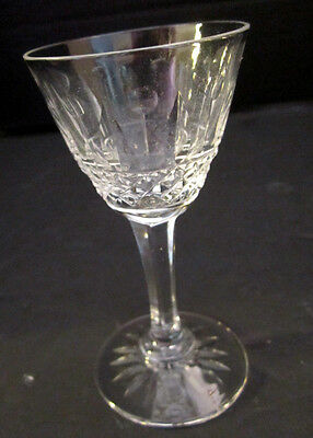6 Lorraine Cristallerie Elegant French Cut Crystal Glass. Apertif Sherry Wine 4""