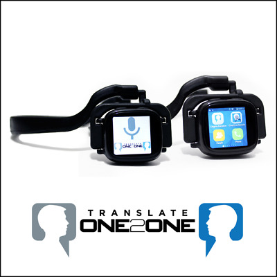 Lingmo Translate One2One Earpiece, translate 27 Languages in Realtime using IBM