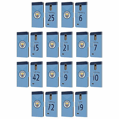Manchester City Man City Fc Home Kit 2016/17 2 Leather Book Case For Lg Phones 1