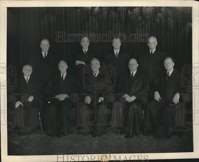 1947 Press Photo United States Supreme Court sits for portrait, Washington, D.C.