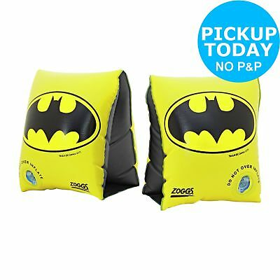 Zoggs Batman Armbands 1-6 Years