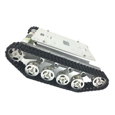 TS100 Metal RC Robot Tank Car Chassis with 12V Motor For Arduino DIY
