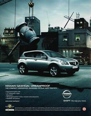 2008 Nissan Qashqai (Dutch, 1pg.) Advertisement (AAA.006)