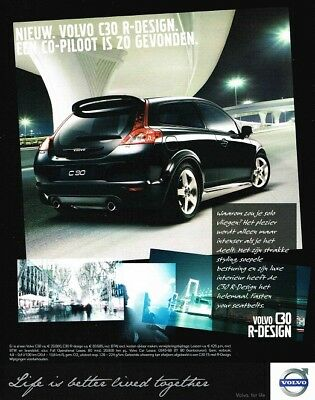 2008 Volvo C30 R-Design (Dutch, 1pg.) Advertisement (AAA.017)