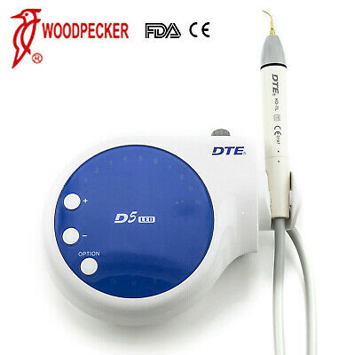 100% Woodpecker Dental Lab DTE Ultrasonic Piezo Scaler D5 LED Handpiece SATELEC