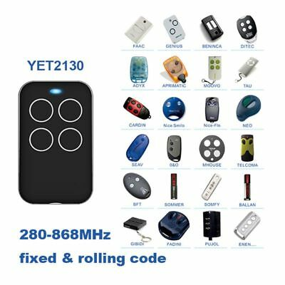 REMOTE CONTROL UNIVERSAL Multi Frequency Cloning 280-868mhz
