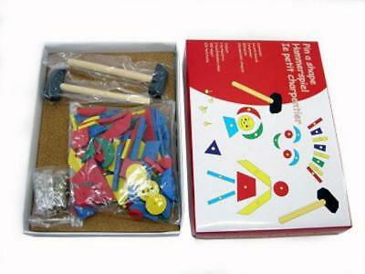 Tap Tap Pin A Shape Hammer And Cork board Create Pictures Using Geometric Shapes
