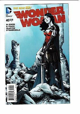 WONDER WOMAN #40, JAE LEE 1:100 VARIANT, New, First print, DC NEW 52 (2015)