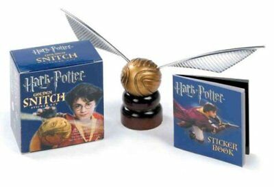 Harry Potter Golden Snitch Sticker Kit by Running Press 9780762428212
