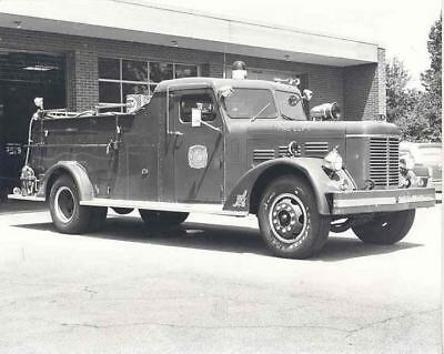 1950 Oren Available Fire Truck Photo Ellicott City MD u6684-J6XXHJ