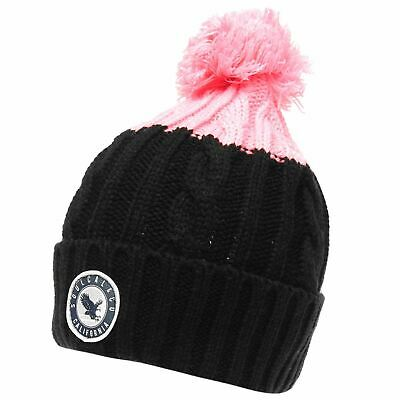SoulCal Womens Eolous Hat Bobble Warm Knitted