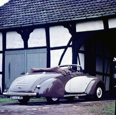 1938 Opel Admiral Glaser Convertible Factory Photo u9069-E7OR61