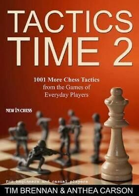 NEW Tactics Time 2 By Tim Brennan Paperback Free Shipping