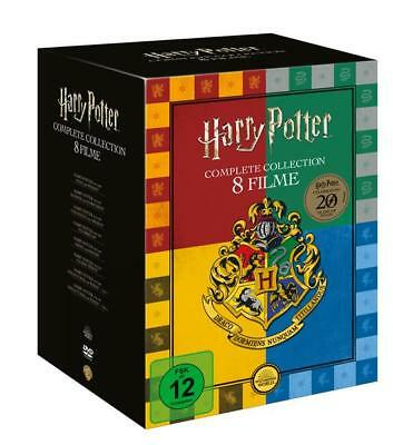 Harry Potter Collection (exklusive Buchhandels-Edition), 8 DVD