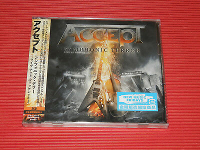 2018 Japan Accept Symphonic Terror Live At Wacken 2017 Two Cd Set