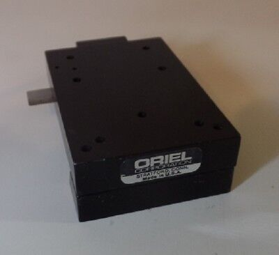 ORIEL INSTRUMENTS DOVETAIL OPTICAL RAIL CARRIER STAGE (26mm)