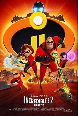 *incredibles 2*brand New Dvd Factory Sealed *now Shipping*
