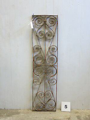 Antique Egyptian Architectural Wrought Iron Panel Grate (E-05)