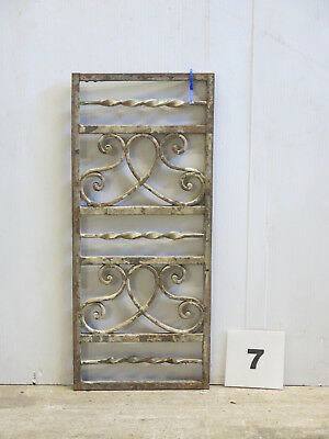 Antique Egyptian Architectural Wrought Iron Panel Grate (E-07)