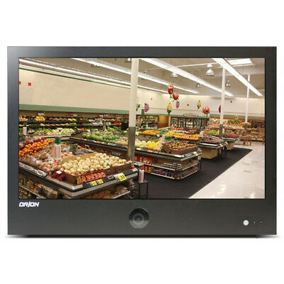 New in box. Public View Monitor with built in camera & motion sensor