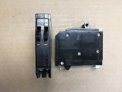 Square D Qot Qo2020 1 Pole Twin 12 0/240V 20 Amp Circuit Breaker Push In Qot2020