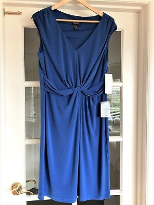 ace9df59 New tags Adriana Papell size 14 Dress NWT Nordstrom Blue Sheath Cocktail  twist