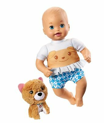 """Fisher-Price Little Mommy Cuddle and Care + Plush Pet Friend 12"""" Doll New"""
