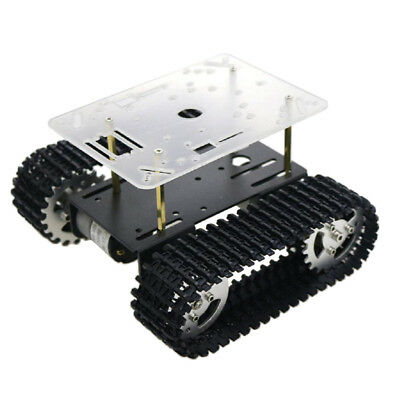 T101 Robot Smart Tank Chassis DIY Kit Arduino Shock Absorbed Raspberry Pi