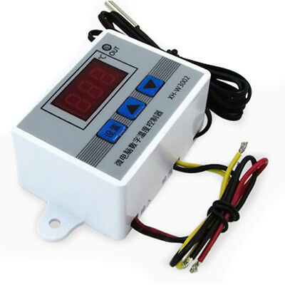 XH-W3002 Digital LED Temperature Controller Thermostat Control Switch Probe Kit