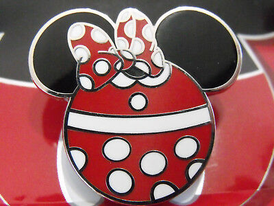 2012 Authentic Disney Mickey Mouse Icon Ears Mystery Trading Pin Minnie Bow