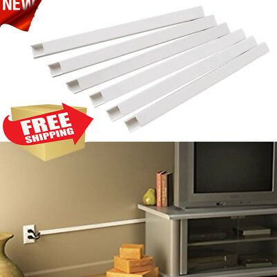 Cable Concealer Wall Cord Channel Wire Covers For Mounted Tv Raceway