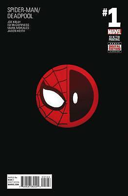 SPIDER-MAN DEADPOOL #1, SIXTH PRINTING, Marvel Comics (2016)