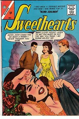SWEETHEARTS #71, Charlton Comics (1963)