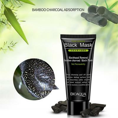 60g Bamboo Charcoal Blackhead Remover Deep Clean Peel Off Mud Face Nose Mask