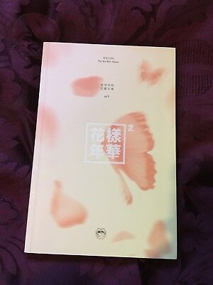 OFFICIAL BTS HYYH In The Mood For Love PT 2 Album CD K-pop (no Photocard)