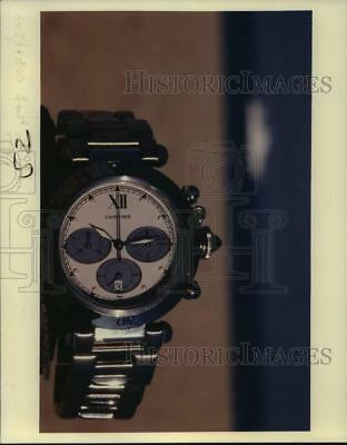 1992 Press Photo Cartier Pasha has a bold new look and comes in six styles