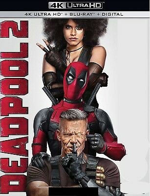 Deadpool 2 (4K Ultra HD Blu-ray Disc ONLY, 2018) - Theatrical Version ONLY