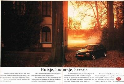 1993 Audi Coupe S2 (Dutch, 2pg.) Advertisement (AAA.417)