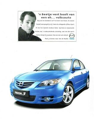 2004 Mazda 3 (Dutch, 1pg.) Advertisement (AAA.455)