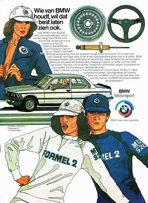 1978 BMW E21 3-Serie Motorsport (Dutch, 1pg.) Advertisement (AAA.565)