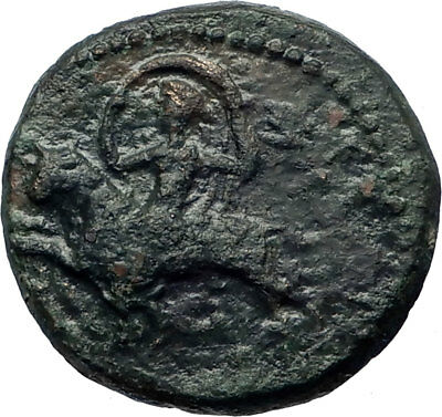 CLAUDIUS 41AD Amphipolis in Macedonia Artemis on bull Ancient Roman Coin i73720