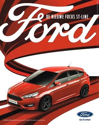 2017 Ford Focus ST-Line (Dutch, 1pg.) Advertisement (AAA.657)
